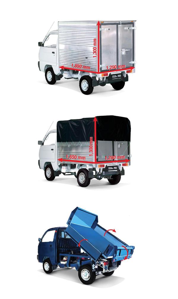 Chán xe 'vô danh', nhiều chủ doanh nghiệp quyết chọn Suzuki Carry Truck
