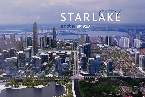 Không gian sống đáng giá ở khu đô thị Starlake Tây Hồ Tây