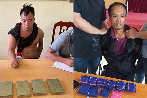 Bắt đối tượng vận chuyển 4 bánh heroin và gần 6.800 viên ma tuý