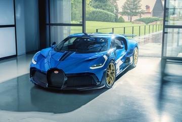 Chiếc Bugatti Divo cuối cùng xuất xưởng