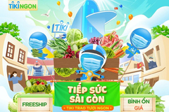 Tiki tiếp sức TP.HCM cung ứng thực phẩm, nhu yếu phẩm bình ổn giá