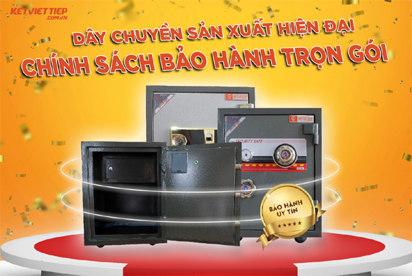 Két sắt Việt Tiệp - chất lượng sản phẩm xây niềm tin lớn