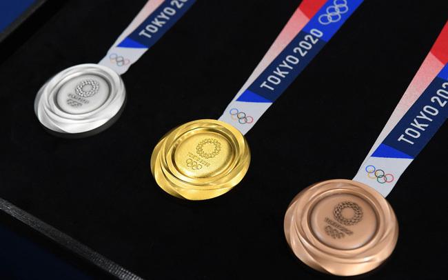 Bảng tổng sắp huy chương Olympic 2020 hôm nay 24/7