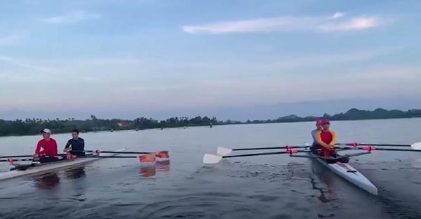 Khẩu phần ăn của VĐV rowing Việt Nam trước Olympic cần gì đặc biệt?