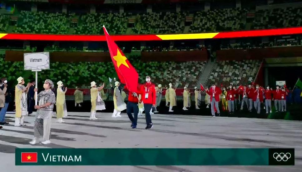 Chùm ảnh: Rực rỡ lễ khai mạc Olympic Tokyo 2020