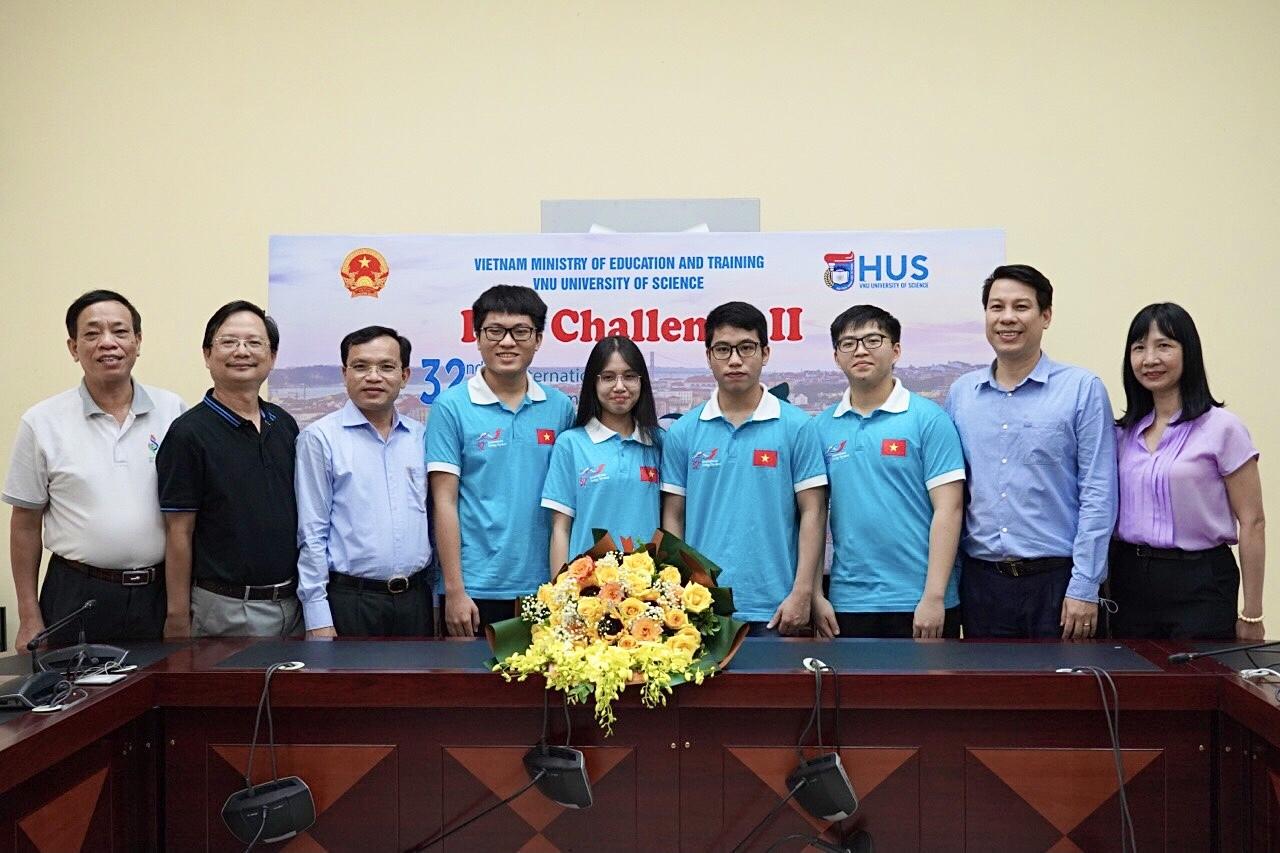 4 học sinh Việt Nam giành huy chương Olympic Sinh học quốc tế 2021