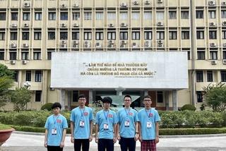 Giành 3 Huy chương Vàng, Việt Nam xếp thứ 7 tại Olympic Vật lí 2021