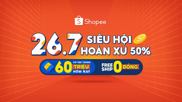 Loạt 'deal hời' săn sale cuối tháng, tích Shopee xu