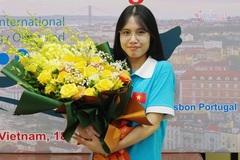Nữ sinh Phú Thọ bật khóc vì 'đổi màu' huy chương Olympic quốc tế