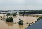 Khung cảnh thành phố iPhone chìm trong biển nước