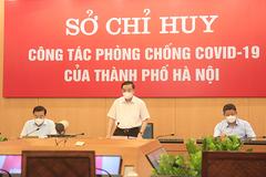 """Thị sát nhiều tuyến phố, Chủ tịch Hà Nội chỉ đạo loạt vấn đề """"nóng"""""""