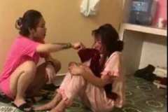 Nữ nhân viên quán karaoke bị lột đồ, tra tấn dã man ở Thái Bình