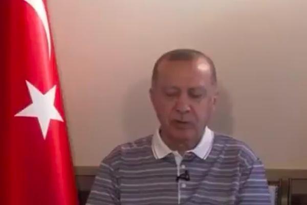 """Video Tổng thống Thổ Nhĩ Kỳ """"ngủ gật"""" khi đang phát biểu"""