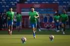 Brazil 0-0 Bờ Biển Ngà: Thế trận sôi động (H1)