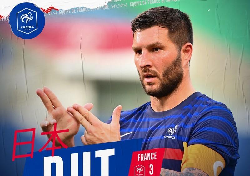 Olympic Pháp hạ Nam Phi sau màn rượt đuổi đau tim