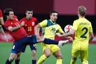 Tây Ban Nha 0-0 Úc: Khoan phá bê tông (H2)