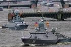 Xem tàu chiến, tàu ngầm Nga phô diễn sức mạnh