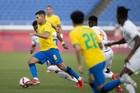 Trực tiếp bóng đá nam Olympic Brazil vs Saudi Arabia