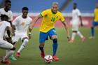 Brazil bất lực trước Olympic Bờ Biển Ngà