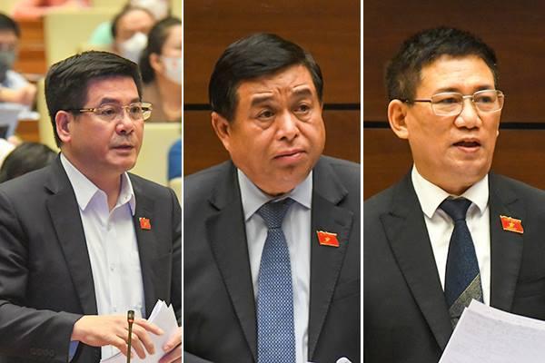 Ba bộ trưởng lên tiếng về cung ứng hàng hóa, hỗ trợ doanh nghiệp lúc dịch bệnh