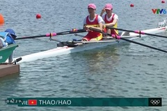 Vietnamese rowers miss out on medal group