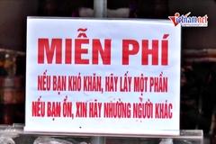 Quầy hàng 0 đồng 'cứu nguy' lao động nghèo Hà Nội