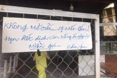 Hài hước muôn kiểu bảng thông báo: 'Không tiếp khách mùa dịch'