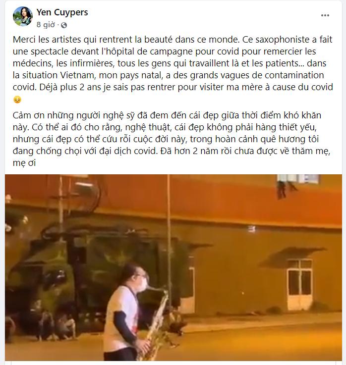 Clip nghệ sĩ Trần Mạnh Tuấn biểu diễn bài 'Quê hương' phục vụ F0 gây xúc động