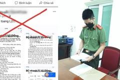 Hưng Yên triệu tập đối tượng đăng tin sai sự thật về cái chết của một quân nhân