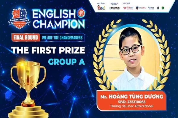 English Champion: 'Ươm mầm' thế hệ công dân toàn cầu