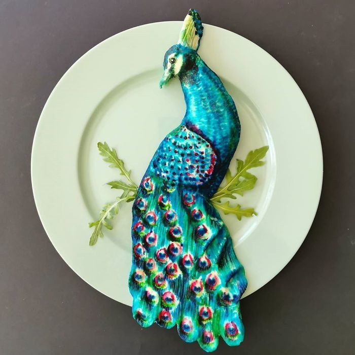 Bà mẹ gây 'sốt' mạng nhờ các món ăn đẹp như tranh