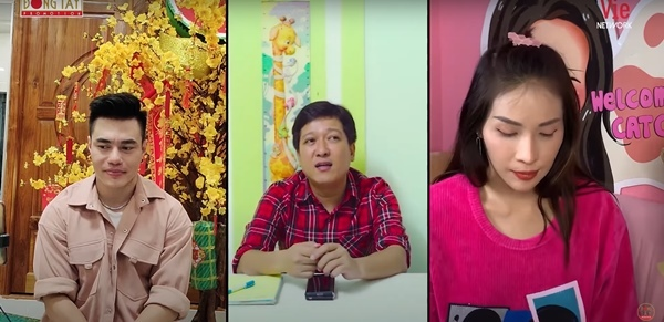 Trường Giang, Lê Dương Bảo Lâm video call quay gameshow mùa dịch