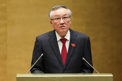 Phát biểu nhậm chức của Chánh án TAND tối cao Nguyễn Hòa Bình