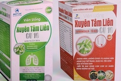 Bộ Y tế cảnh báo khẩn về 2 sản phẩm Xuyên tâm liên giả mạo