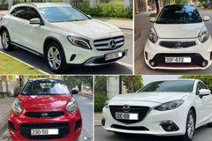 Cửa hàng ô tô cũ giảm giá chờ phá sản, vắng khách triền miên