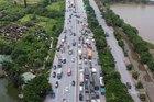 Gần 37 nghìn xe đi 'luồng xanh' tới tại các tỉnh thành đang giãn cách