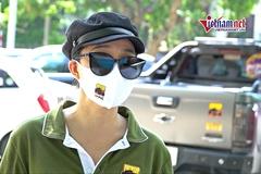 Nữ doanh nhân Hà Nội lái xe địa hình ship hàng cứu trợ mùa dịch