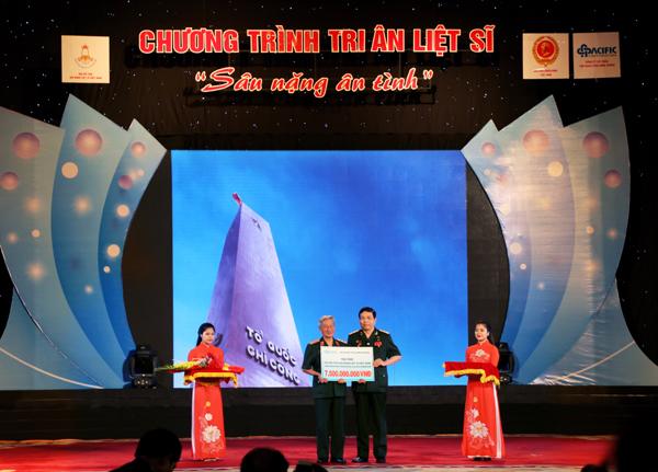 Tri ân liệt sĩ sâu nặng nghĩa tình ở Hội Hỗ trợ gia đình liệt sĩ Việt Nam