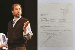 Đơn xin việc của Steve Jobs lại được bán đấu giá