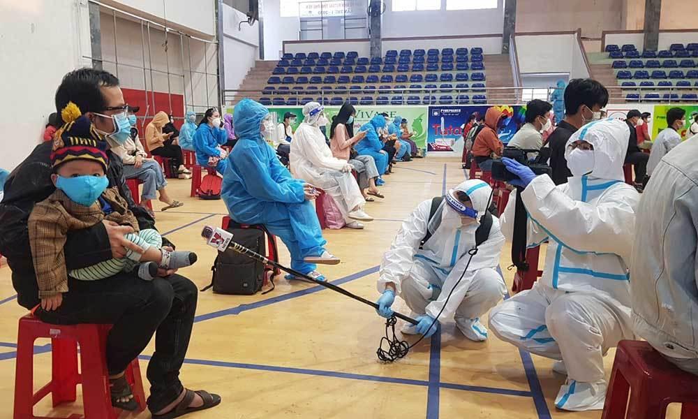 400 công dân đầu tiên từ TP.HCM đã về đến Phú Yên