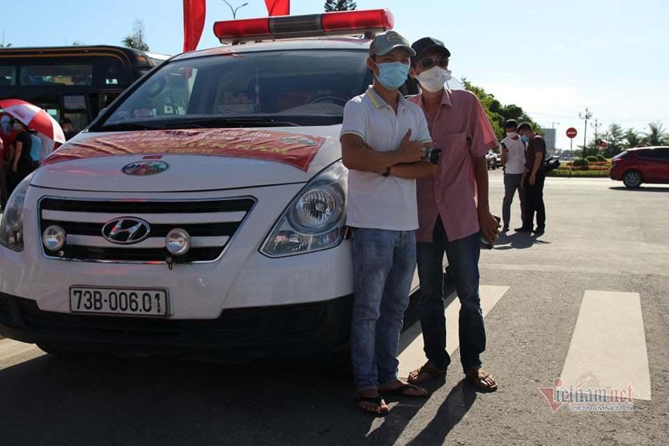 29 y bác sĩ Quảng Bình vào TP.HCM chống dịch Covid-19