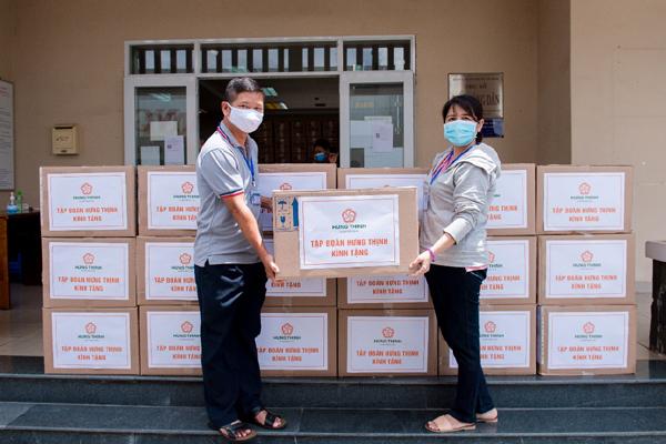 Hưng Thịnh chi hơn 35 tỷ đồng hỗ trợ TP.HCM chống dịch Covid-19