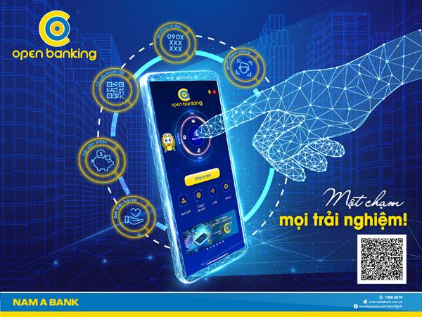 Open Banking phiên bản 2.0 với nhiều tính năng ưu việt của Nam A Bank