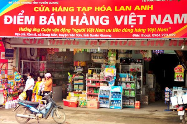 Cuộc vận động 'Người Việt Nam ưu tiên dùng hàng Việt Nam'