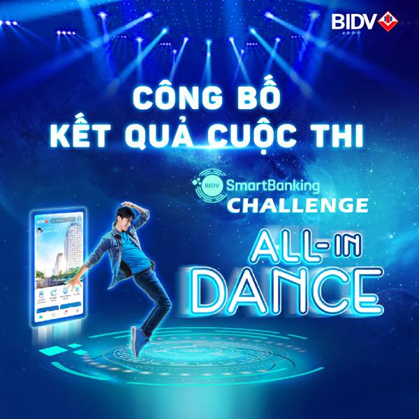 Trao giải cuộc thi vũ đạo trực tuyến Smartbanking Challenge