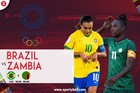 Trực tiếp Brazil 1-0 Zambia: Siêu phẩm sút phạt (H1)