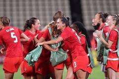 Lịch thi đấu vòng tứ kết bóng đá nữ Olympic 2020
