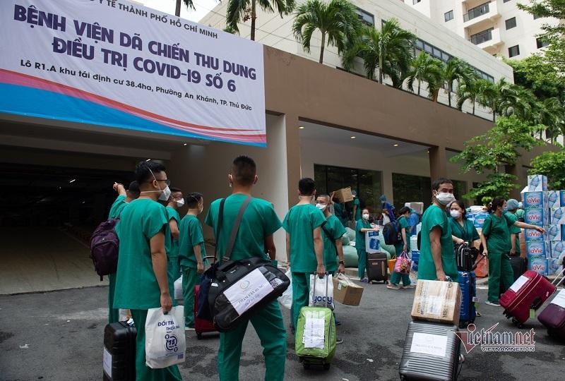TP.HCM lập thêm 4 BV điều trị Covid-19, tổng hơn 10.000 giường