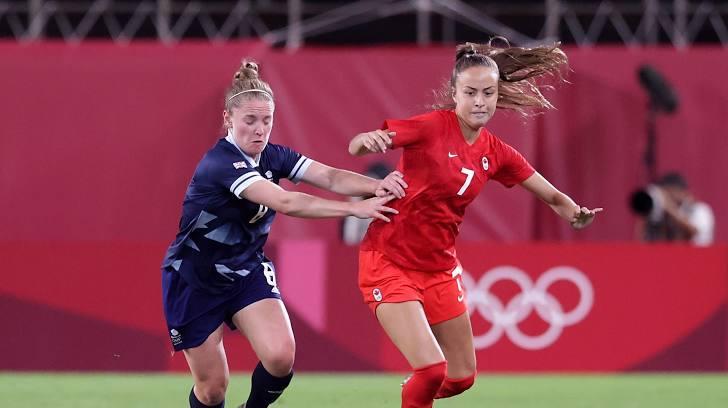 Canada và Anh 'rủ nhau' vào tứ kết tứ kết Olympic Tokyo