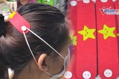 9X Hà Nội sản xuất hàng nghìn móc đeo khẩu trang gửi tặng TP.HCM